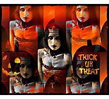 trick or treat Photographic Print