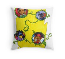 KINFfolkes-GRAPEVINE Throw Pillow