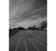 The Sky And The School Photographic Print