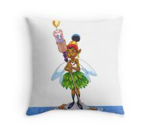 KINFfolkes-LET YOUR LIGHT SO SHINE Throw Pillow