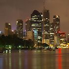 Brisbane City by Wayne  Nixon