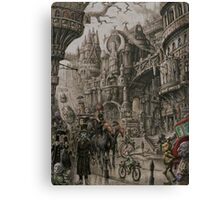 Suidemor, City of the Elder Fey Canvas Print