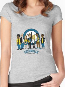 Greendale TAS Women's Fitted Scoop T-Shirt