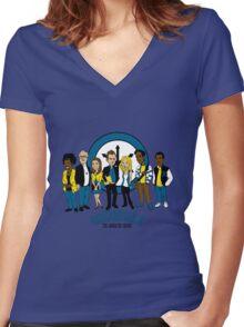 Greendale TAS Women's Fitted V-Neck T-Shirt