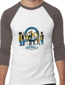 Greendale TAS Men's Baseball ¾ T-Shirt