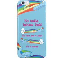 Double Rainbow Dash iPhone Case/Skin