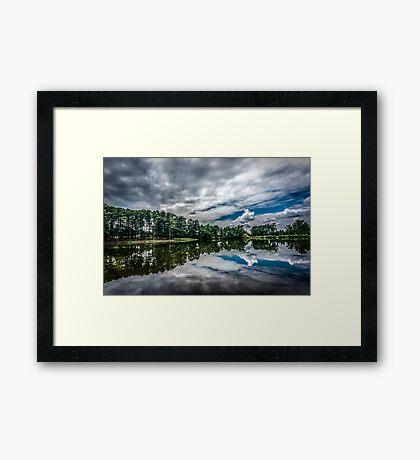 Hayes Lake Framed Print