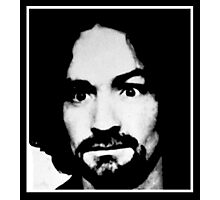 Classic Charlie Manson Photographic Print