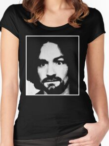 Classic Charlie Manson Women's Fitted Scoop T-Shirt