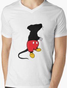 micky mouse Mens V-Neck T-Shirt
