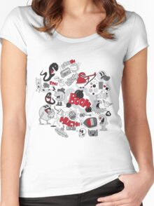 BOW! Women's Fitted Scoop T-Shirt