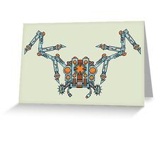 Swiss Army Spider Greeting Card