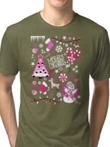 christmas Tri-blend T-Shirt