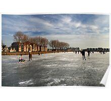 Ice Fun in Hoorn Poster