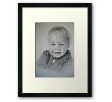Child Portrait Framed Print