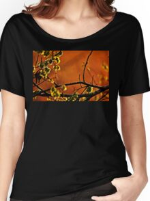 Backlit Branch Women's Relaxed Fit T-Shirt