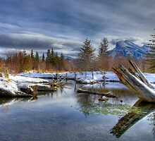 Mellow Morning in Banff by Justin Atkins