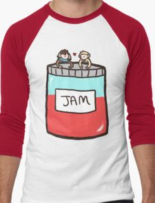 Sherlock, John, and Jam Men's Baseball ¾ T-Shirt