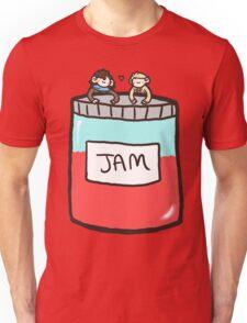 Sherlock, John, and Jam Unisex T-Shirt