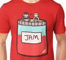 Sherlock, John, and Jam Unisex T-Shirt