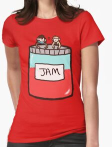 Sherlock, John, and Jam Womens Fitted T-Shirt