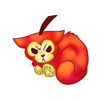 FRUIT CATS: Crab Apple Cat by GreysRainbow