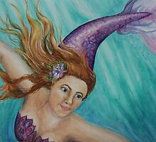 Underwater Adventure with Mermaids  by Andrea Lansdale
