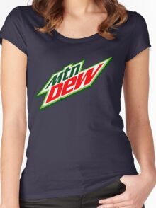 Mountain Dew  Women's Fitted Scoop T-Shirt