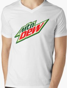 Mountain Dew  Mens V-Neck T-Shirt