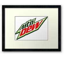 Mountain Dew  Framed Print