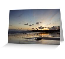 Embleton Bay Sunrise Greeting Card