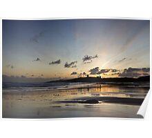 Embleton Bay Sunrise Poster