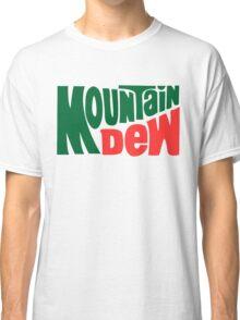 Mountain dew text logo Classic T-Shirt
