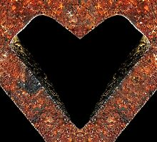Rusty Heart by Kim  Calvert