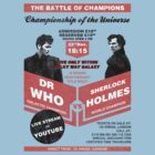 Dr Who VS Sherlock Holmes Poster by bomdesignz