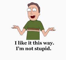 Rick and Morty-- Jerry Backwards Shirt Unisex T-Shirt