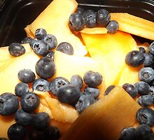 BLUEBERRIES AND MELON by MurrayPublish