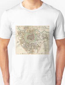 Vintage Map of Vienna Austria (1833) T-Shirt