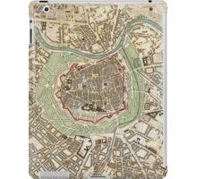 Vintage Map of Vienna Austria (1833) iPad Case/Skin