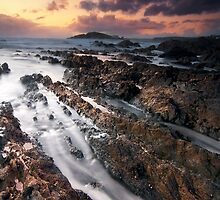 Bantham Rocks by banny