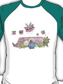 Jumpluff's Mass Attack! T-Shirt