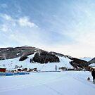 Austria midday sky by MrZebra