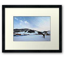 Austria midday sky Framed Print