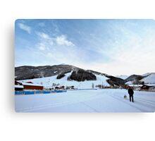 Austria midday sky Canvas Print