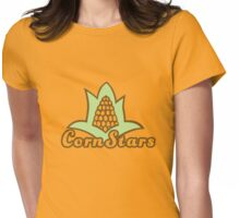 Corn Stars Womens Fitted T-Shirt