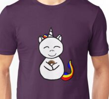unicorn loves donuts Unisex T-Shirt
