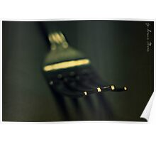 tenedor Poster