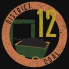 District 12 Souvenir Shirt by MeteorMuse