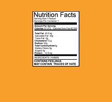 Nutritional Value Unisex T-Shirt