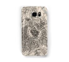 Vintage Map of Vienna Austria (1906) Samsung Galaxy Case/Skin